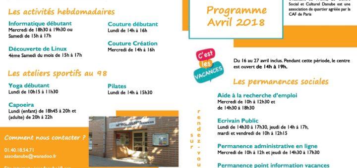 Programme Avril Centre Danube-page-001