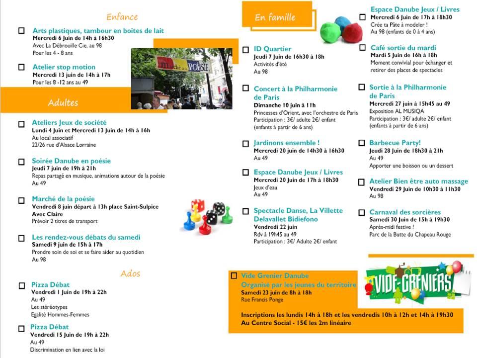 Programme JUIN2